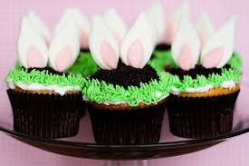 Decorate Easter Bunny Cupcakes by Bunny Ear Cupcakes With Sprinkles On Top