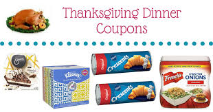 thanksgiving printable coupons 2017 edition mylitter one deal