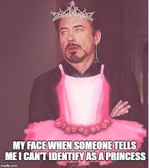 Birthday Princess Meme - i feel pretty oh so pretty imgflip