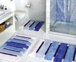 Navy Blue Bathroom Rug Set Nobby Navy Blue Bathroom Rug Set Pleasing Bath Mats Impressive