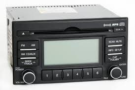hyundai accent 2007 2011 oem radio am fm mp3 cd player w satellite