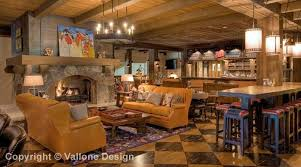 Interior Design Camp by Vallone Design Martis Camp Family Barn