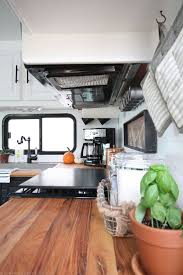 Tiny Kitchen Renovation With Faux by Best 25 Rv Kitchen Remodel Ideas On Pinterest Decorating An Rv