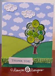 my button tree card s designs cards creations