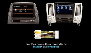 lexus rx300 navigation dvd download connect rear view camera in lexus rx and toyota prius with cable
