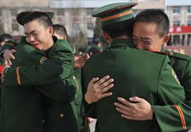 bid farewell ex servicemen bid farewell to companions china news sina