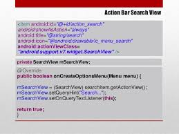 android oncreateoptionsmenu android best practices