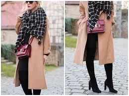 test of time camel coat blanket scarf u0026 suede boots