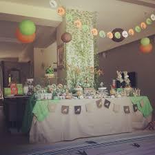 deco jungle bapteme anniversaire dinosaures organisation baby shower anniversaire