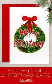 free printable christmas card simple watercolor watercolor