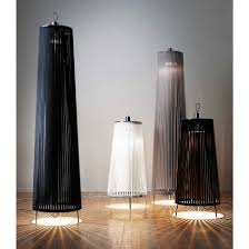 solis floor lamp silver finish carmine deganello design house