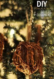 rattan sphere ornaments handmade ornament no 1
