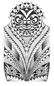 samoan warrior half sleeve tattoo by thehoundofulster maori
