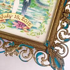 How To Create A Wedding Program How To Create A Keepsake Frame For A Wedding Invitation Goodwill