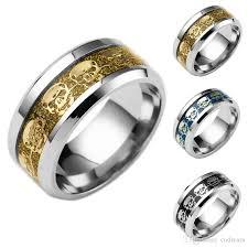 skull finger rings images Stainless steel silver gold skull ring finger ring bands rings for jpg