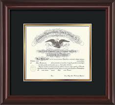 diploma frames st josephs diploma frame mahogany lacquer black gold