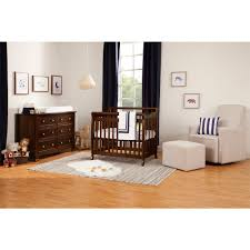 Solid Wood Mini Crib by Davinci Emily Convertible Mini Crib Espresso Babies