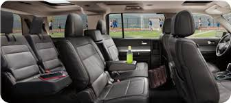how many seats does a 2013 ford flex limited five fab features reviews