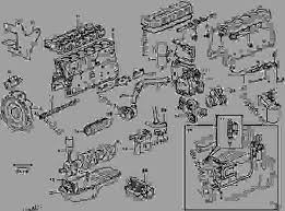 engine excavators volvo ec460b engine with mounting and