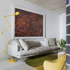 Wohnzimmer Deko Gelb Gemütliche Innenarchitektur Deko Wohnzimmer Gelb Grau Und Gelb