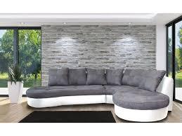 matière canapé canapé bi matière canap d 39 angle droit bi mati re gris orca canap