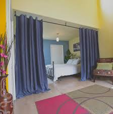 Diy Hanging Room Divider Hanging Curtain Room Divider Diy Decorate The House With