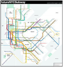 Ny Subway Maps by Future Map Futurenycsubway By Vanshnookenraggen Transit Maps