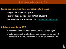 web etu lyon 2 bureau virtuel dominique maniez sentier crtt ppt télécharger