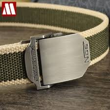 aliexpress com buy 2017 fashion mens canvas belt buckle