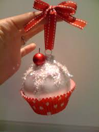 Easy Diy Christmas Ornaments Pinterest Easy U0026 Cute Diy Cupcake Ornaments What A Fun Gift For Bunko