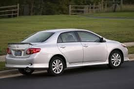 toyota list of cars 2009 toyota corolla overview cars com