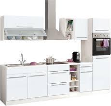 Billige K Henzeile Küchenzeile Held Möbel Avignon Mit E Geräten Breite 290 Cm