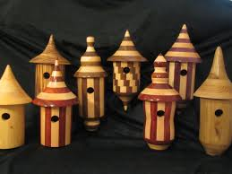 different types of turned birdhouses turned birdhouses