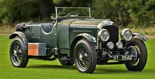 classic bentley 1924 bentley 3 4 5 litre vanden plas style tourer vintage