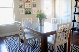 steel dining room table design gyleshomes com