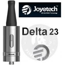 Joyetech Delta 23 Atomizer 6ml joyetech delta 23 clearomizer 6ml silver www chytrekoureni cz