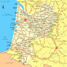 Biarritz France Map by Large Aquitaine Region Maps For Free Download And Print High