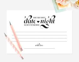 marriage advice cards for wedding date idea date card wedding keepsake idea card