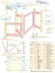 folding wood carving bench plans u2022 woodarchivist