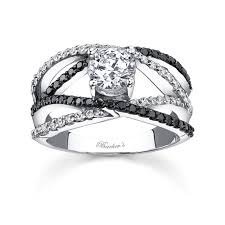 barkev s black diamond engagement ring 7640lw