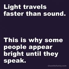which travels faster light or sound images The speed of light quote share its funny jpg