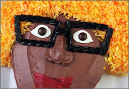 yo gabba gabba party dj lance cake