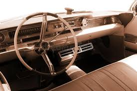Brown Car Interior Vintage Car Interior Sepia Stock Photo Image 14755354