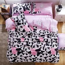 Double Bed Duvet Size Wholesale B U0026w Panda Bedding Set Cotton Bed Sheet Bedspread Duvet