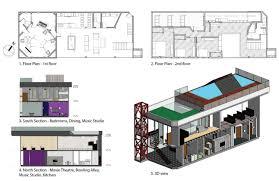 movie theatre floor plan interior design portfolio amy ko by amy ko issuu