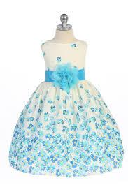 flower printed sleeveless cotton daisy flower dress
