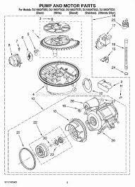whirlpool du1055xtss3 parts list and diagram ereplacementparts com