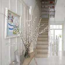 Twig Tree Home Decorating 15 Floral Arrangements With Flowering Branches Spring Home