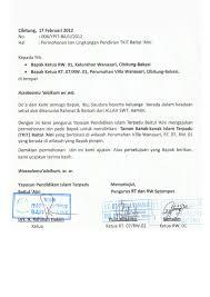 mendirikan yayasan pendidikan islam tkit tpq baitul aini contoh surat izin lingkungan mendirikan