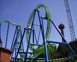 Viper Roller Coaster Six Flags Valley Iron Fabricators Erectors Inc